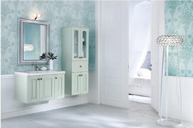 Acanthis frassino laccato verde agais compab negri mobili for Negri arredamenti camerette