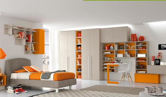 Colombini mobili rimini colombini eresem letto in bianco for Negri arredamenti camerette