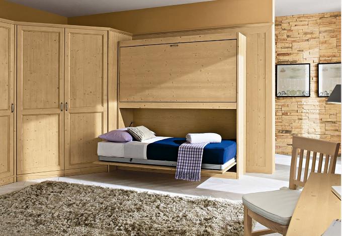 Cameretta doppio letto ribalta callesella negri mobili for Arredamento negri