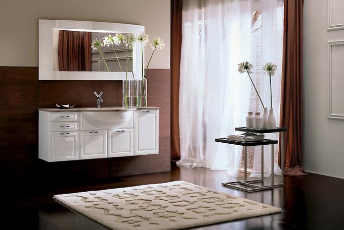 Cigno laccato lucido bianco compab negri mobili bereguardo for Arredamento negri