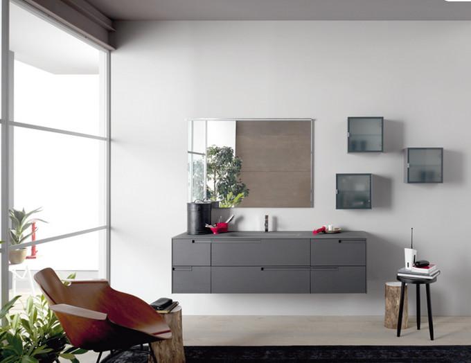 Sign rovere grigio grafite opaco azzurra negri mobili bereguardo arredamento provincia di - Mobili rovere grigio ...